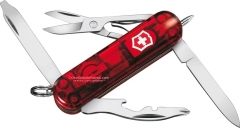 Victorinox Swiss Army 53756 Midnite Manager Translucent Ruby