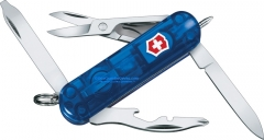 Victorinox Swiss Army 53757 Midnite Manager Translucent Sapphire