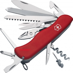 Victorinox Swiss Army 53761 WorkChamp Lockblade Red