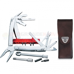 Victorinox Swiss Army 53806 SwissTool Spirit Plus Ratchet Multi-Tool (Leather Sheath)