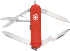 Victorinox Swiss Army Midnite Manager II Multi-Tool Pocket Knife with LED (2.28 Inches Closed) 58mm Red Handle 53851