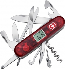 Victorinox Swiss Army 53968 Voyager Lite Translucent Ruby, 91mm
