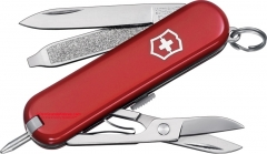 Victorinox Swiss Army Signature II Multi-Tool Pocket Knife (58mm 2.25 Inches Closed) Red Handle 54091