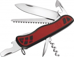 Victorinox Swiss Army 54848 Forester Multi-Tool, Red Grip Handles