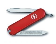 Victorinox Swiss Army Vintage II Multi-Tool Key-Ring Knife (58mm 2.25 Inches Closed) Red Handle 54881