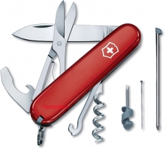 Victorinox Swiss Army 54941 Compact Knife, Red, 91mm