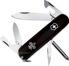 Victorinox Swiss Army Tinker Boy Scout Multi-Tool Knife (91mm 3.5 Inches Closed) Black