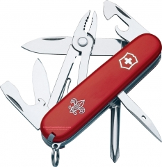 Victorinox Swiss Army Mechanic Boy Scout Model Multi-Tool Knife (91mm 3.58 Inches Closed) Red 55441