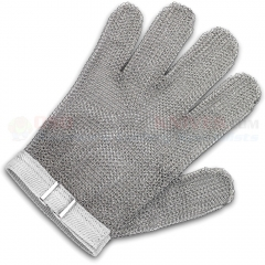 Victorinox 81703 Saf-T-Gard GU-2500 Cut Resistant Stainless Steel Mesh Safety Glove (Medium) OSHA Approved