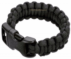 Boker Wilson Tactical 09WT203 Survival Bracelet, Black, 9 Inch