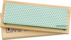 DMT W6E Diamond Whetstone 6x2 Inch with Hardwood Case, Green X-Fine Grit