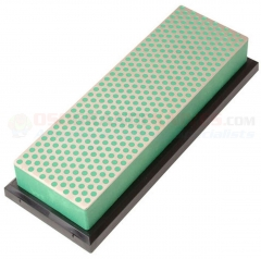 DMT W6EP Diamond Whetstone Bench Stone Sharpener (6x2 Inch Green Extra-Fine Grit) with Plastic Case DMTW6EP