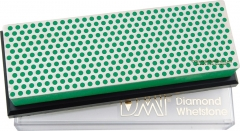 DMT W6EP Diamond Whetstone 6x2 Inch with Plastic Case, Green X-Fine Grit