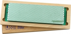 DMT W8E Diamond Whetstone 8 Inch with Base, Hardwood Storage Box, Green X-Fine Grit