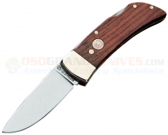Boker 111004 Pocket Lock Blade, Rosewood Scales, Nickel Silver Bolsters