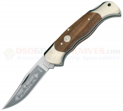 Boker 112002 Lock Blade Hunter, Rosewood Handle