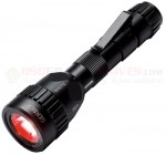 Gerber Recon M II LED Tactical Flashlight (White + Red + NVIS + Covert IR Filters) Black Aluminum Body 22-80132