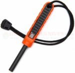 Exotac polySTRIKER XL Ferrocerium Fire Starter (5.3 Inches Overall) Orange 1620ORG