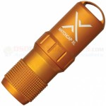 Exotac MATCHCAP XL Survival Match Case w/ Striker (Aluminum Waterproof Capsule) Orange ET1200ORG
