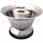 Large Stainless Steel Shave Bowl, LGSTSB
