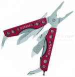 Gerber Clutch Mini Plier Tool Multi-Tool (2.56 Inches Closed) Special Ops Red 22-01507