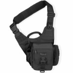 MaxPedition 408B S-Type FatBoy Versipack, Left Handed Version for Weak Side Carry, Black
