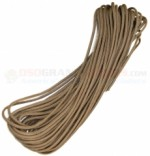 Desert Tan 550 Paracord 50 ft. Hank (Type III Mil Spec 7 Strand Parachute Cord) Made in USA ATLA-5053
